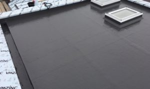 flat roofing bath