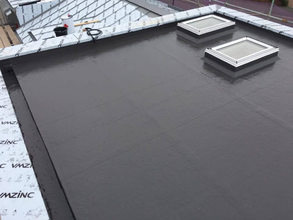 flat roofing lawrence weston